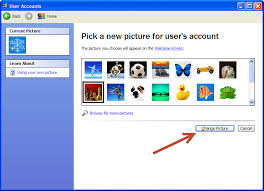 tutorial xp windows how to change your user account picture in microsoft windows xp