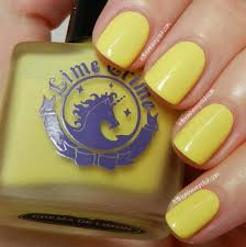 let them have polish 31dc2013 day 3 yellow nails in lime crime