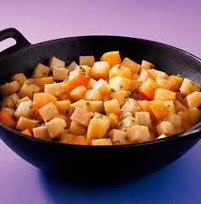 cuisiner les l馮umes anciens wok de légumes anciens au miel priméale