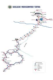 Map Of Nepal India by The Shorter Route To Kailash Mansarover Livemint