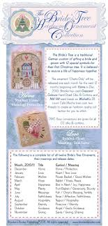 brookes books the brides tree heirloom ornament collection