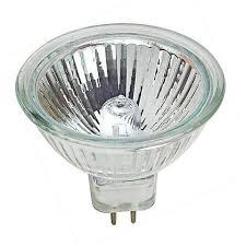 tesler 50 watt mr 16 40 degree uv filter halogen light bulb