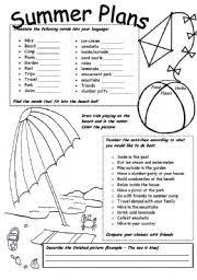 english worksheet my favourite city guided writing esl for