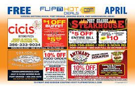 Crazy Buffet West Palm Beach Coupon by Flip U0027nhot Deals Coupon Book April 2017 Daytona Beach Area By