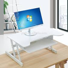 Electronic Height Adjustable Desk by Standing Work Height Adjustable Desk Riser Sit Stand Desk Buy