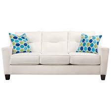 benchcraft forsan nuvella contemporary queen sofa sleeper in