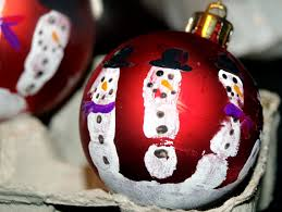 guest post print snowman ornaments