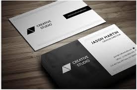 back business card dual backside business card design template design inspiration