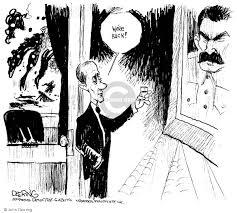 Iron Curtain Political Cartoons The Georgia Russia Comics And Cartoons The Cartoonist Group