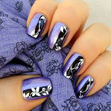 cute flower nail art designs flower nail art flower nails and