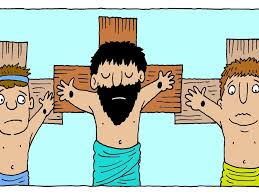 free bible images a thief turns to jesus for help and is given a