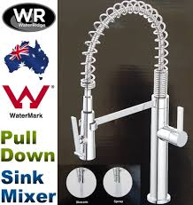 water ridge pull out kitchen faucet new water ridge pull down sink mixer with twin action spray wels 5