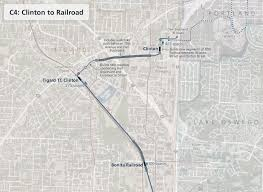 Portland Rail Map by Branching Out Places Over Time