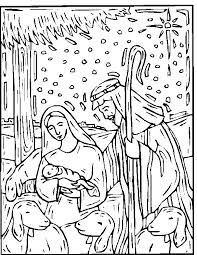 nativity coloring book 25 nativity coloring pages ideas