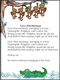 No More Monkeys Jumping On The Bed Song Fun Friday A Teeny Tiny Teacher