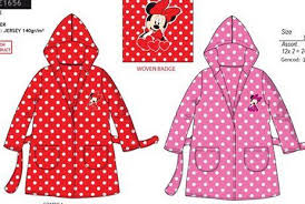 robe de chambre minnie robe de chambre minnie 3 4 6 8 oficial stock