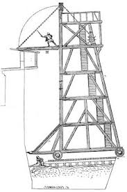 siege tower definition warfare arms