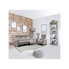 fauteuil canapé ensemble 2 canapés et 1 fauteuil flirt centrelec