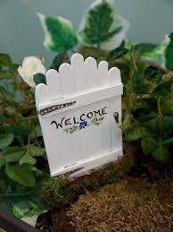 Garden Diy Crafts - fairy garden doors easy craft stick diy hometalk