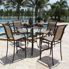 High Table Patio Furniture Smart Inspiration Bar Height Outdoor Furniture Sets With Glass