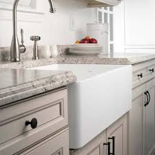 bowl kitchen sink for 30 inch cabinet 30 inch apron front fireclay single bowl kitchen sink houzer