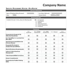 employee evaluation template excel images daycare crafts