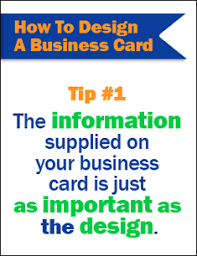 What Information Do You Put On A Business Card Key Information You Must Include When You Design A Business Card