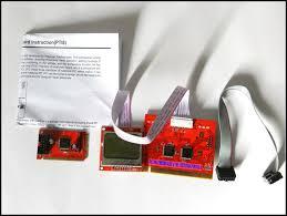post it bureau pc pci carte mère analyseur de diagnostic post test carte pour pc