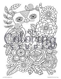 coloring book designs from posh coloring studio