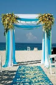 Wedding Arches Inside Elegant Caribbean Beach Wedding Arch By Weddings Romantique