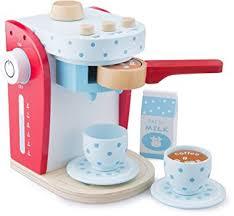 spielküche zubehör holz kaffeemaschine holz spielzeug 9 teilig kaufladen kinderküche