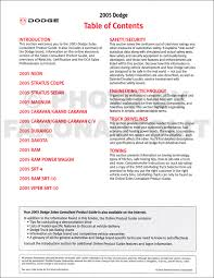 2005 dodge sales consultant product guide original dealer album