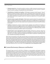 front matter performance measures and targets for transportation