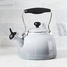 White Kettles And Toasters Teapots Tea Kettles And Warmers Crate And Barrel