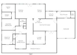 apartments simple floor plans simple small house floor plans