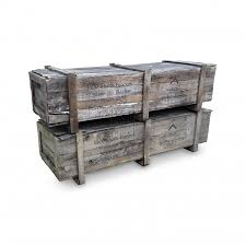 prop hire crates rectangle wood packing crate keeley hire