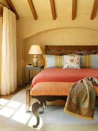 Mediterranean Paint Colors Interior Bedroom Sunny Mediterranean Bedroom Styles Mellow Yellow Wall