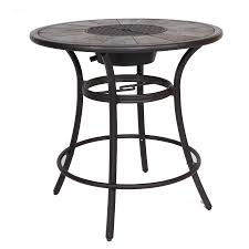 Patio Side Table Patio Side Table Metal Shop Tables At Lowes Com Frightening Images