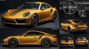 new porsche 911 turbo porsche 911 turbo s exclusive series 2017 pictures