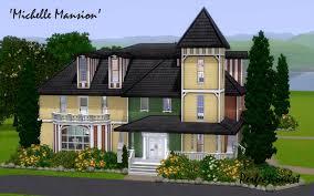 mod the sims u0027michelle mansion u0027 no cc