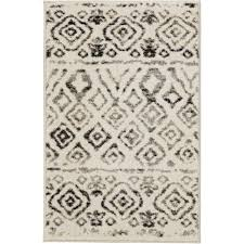 home decorators area rugs home decorators collection tribal essence ivory 2 ft x 3 ft