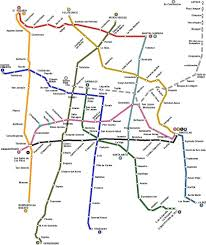 Metro La Map Map Of The Mexican Metro Arquitecture Pinterest