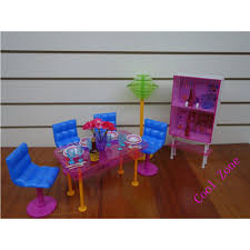 Dollhouse Dining Room Furniture by Miniature Furniture My Fancy Life Dining Room B For Barbie Doll