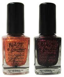 blaze nail lacquer u2013 glitter nail polish changes in the sun