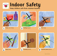indoorsafety for preschoolers indoor safety poster places to