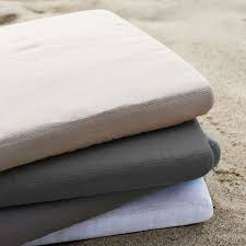 outdoor dining chair cushions west elm