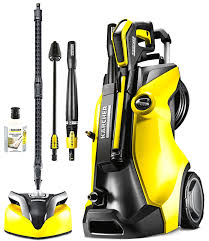 Cleaning Patio With Pressure Washer Karcher K4 Parkside Surface Cleaner Patio Cleaning Youtube And
