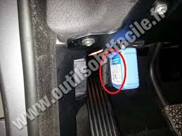obd2 connector location in bmw serie 3 e46 1998 2006 outils