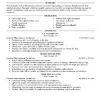 Plumber Resume Sample by Free Download General Maintenance Technician Plumber Resume