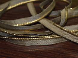 piping cord metallic jari gota patti piping cord piping ribbon
